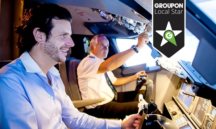 Virtual Aerospace - Multiple Locations: Land an Airliner Flight Simulator Experience from £24 at Virtual Aerospace (Up to 59% Off)