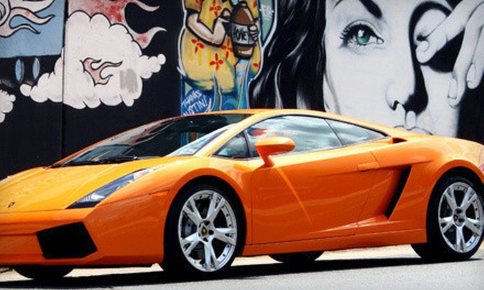 DFW Drive Your Dream - Haltom City: $119 for a One-Hour Driving Experience in a Lamborghini Gallardo from DFW Drive Your Dream ($379 Value)