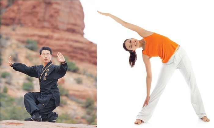 The ChunHwa Training Centre - Multiple Locations: Up to 73% Off Month Unlimited Yoga and Tai Chi at The ChunHwa Training Centre