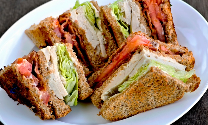 Ice Cream Company - Modesto: Sandwich Meal for Two or Four or $5 for $10 Worth of Café Food at Ice Cream Company