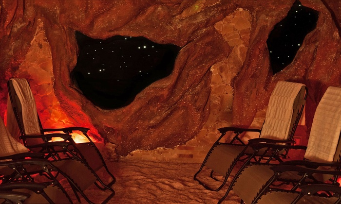 Elements - West Hartford: One, Three, or Five 45-Minute Salt-Cave Therapy Sessions at Elements (Up to 62% Off)