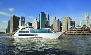 Hornblower Cruises: Manhattan Dinner Cruise for One or Two from Hornblower Cruises (Up to 43% Off). Two Options Available.