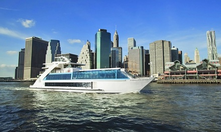 Manhattan Dinner Cruise for Two from Hornblower Cruises (Up to 46% Off). Two Options Available.