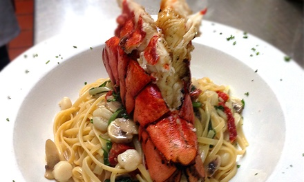 Upscale Italian Dinner Cuisine and Drinks at Trattoria Toscana (40% Off). Two Options Available.