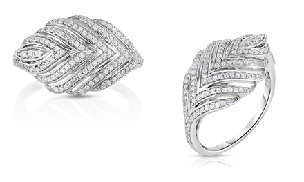 1/2 CTTW Diamond Fashion Rings in Sterling Silver