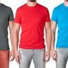 NLA Fitted 100%-Cotton Crew-Neck Men's T-Shirt