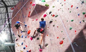 MetroRock: 5 Visits for Indoor Rock Climbing and Yoga or a One-Month Membership Package at MetroRock (Up to 51% Off)