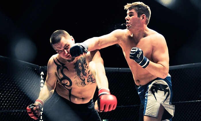 Alaska Fighting Championships - Sullivan Arena : AFC MMA Season Tickets at George M. Sullivan Sports Arena from September 2015 to May 2016 (Up to 59% Off)