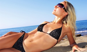 JKFlashy Beauty Bar: One or Three All-Natural or Express Airbrush Tans at JKFlashy Beauty Bar (Up to 62% Off)