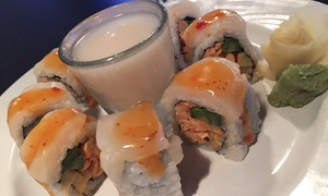 The Fish: Sushi, Salads, Sandwiches, and Drinks for Two or Four at The Fish (Up to 43% Off)