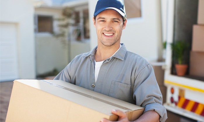Ameramove - Dallas: Two or Three Hours of Moving Services with Two Movers from Ameramove (Up to 41% Off)