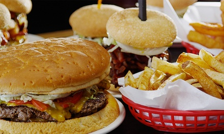 $8 for $15 Worth of Burgers and Sandwiches at Big Jud's