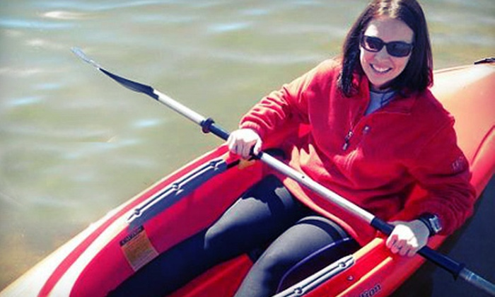 Congress Avenue Kayaks - South River City: One or Two Two-Person Kayak Rentals at Congress Avenue Kayaks (Up to 54% Off)