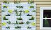 Plantscape Vertical Garden Panel: Plantscape White Stone-Style Vertical Garden Panel