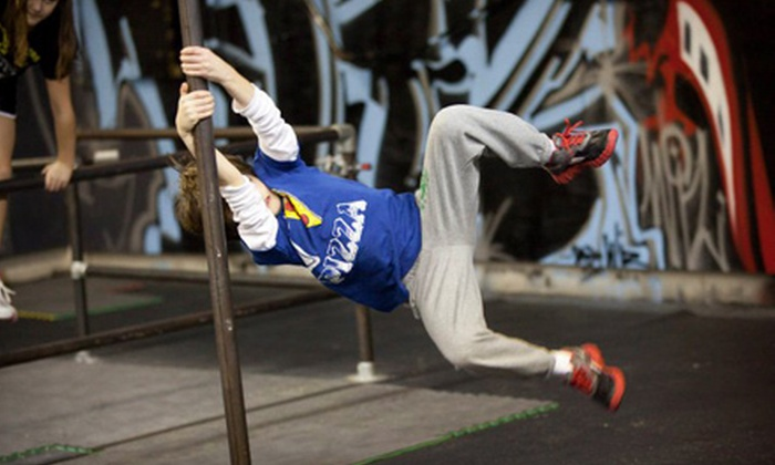Urban Evolution - Manassas: $99 for a Kids' Parkour and Free-Running Camp at Urban Evolution ($400 Value). 5 Options Available.