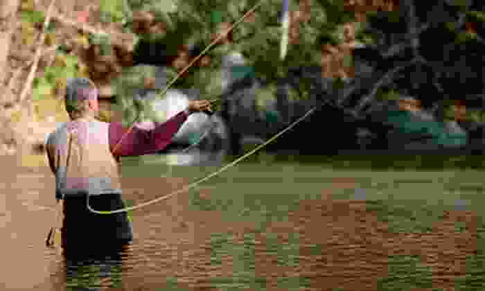 River Through Atlanta - Sope Creek Park: Beginner Fly-Fishing Lesson for One or Two from River Through Atlanta (Up to 72% Off)