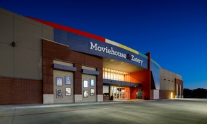 Moviehouse & Eatery - DFW Locations: $13 for Two Dine-In Movie Tickets with Recliner Seats at Moviehouse & Eatery ($26 Value). DFW Locations.