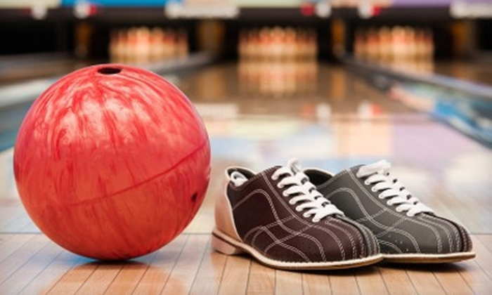 North Bowl Lanes - North Attleborough: $24 for Two Hours of Bowling with Pizza and Drinks for Six at North Bowl Lanes ($49.95 Value)