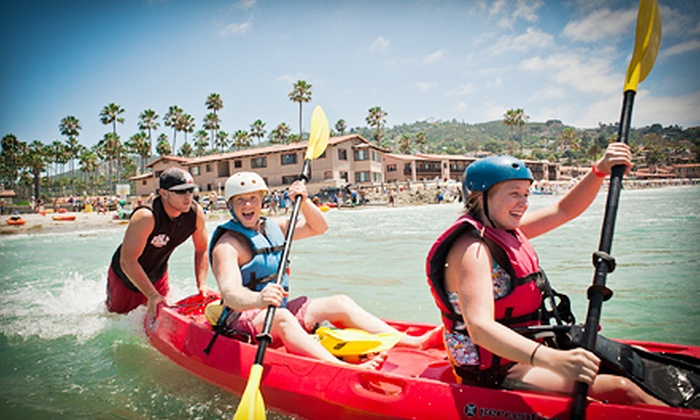 Bike & Kayak Tours - La Jolla Shores: Kayak Tour for Two or Rental from Bike & Kayak Tours (Up to 56% Off)