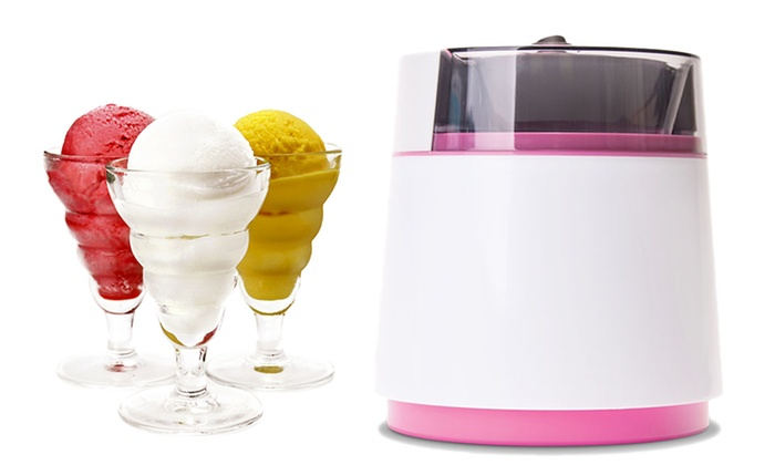Compact Frozen Yogurt and Ice Cream Maker: Compact Frozen Yogurt and Ice Cream Maker