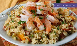 Ragin' Cajun: Cajun Dinner for Two or Four at Ragin' Cajun (Up to 48% Off)