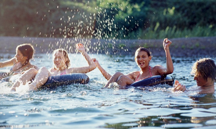 Lazy Wolf Adventures - Shawano: Full-Day Tube Rental for Two or Four at Lazy Wolf Adventures in Shiocton (Half Off)
