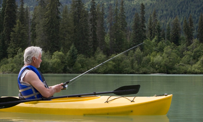 Texas Kayak Guide - Willis: Two-Hour Guided Kayak Tour for Two at Texas Kayak Guide (51% Off)