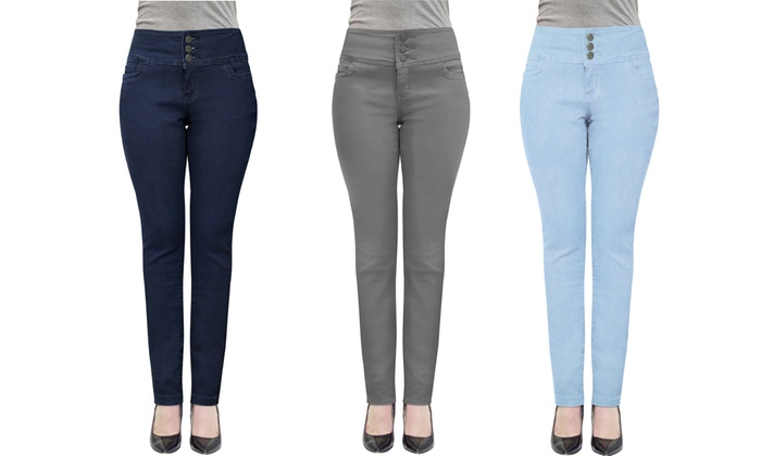 742b43371e5d Women s Butt-Lifting V3 Stretch Denim Pants. Plus Sizes Available. Hybrid    Co ...