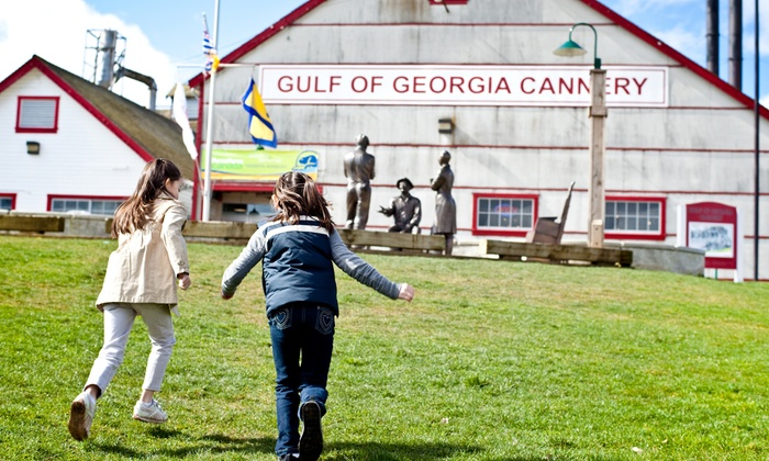 Gulf of Georgia Cannery - Gulf of Georgia Cannery National Historic Site - Steveston BC: Admission for Two Adults or a Family to Gulf of Georgia Cannery National Historic Site (Up to 55% Off)
