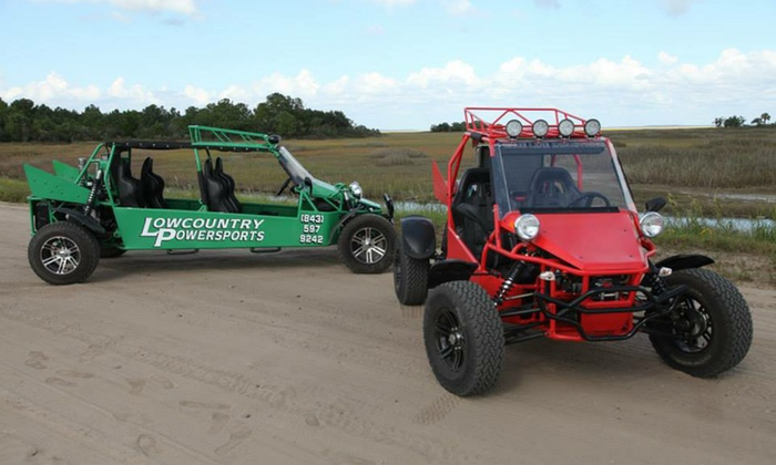 Lowcountry Powersports - Burton: Dune-Buggy Rental for Two or Four from Lowcountry Powersports (Up to 55% Off)