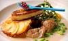 RESTAURANT LES FORGES - Saint Ouen de Thouberville: Menu gastronomique en 5 services pour 2 personnes dès 55,90 € au Restaurant Les Forges