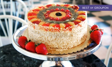 One 6-, 7-, or 8-Inch Signature Fruit Cake at Classic Bakery (Up to 34% Off)