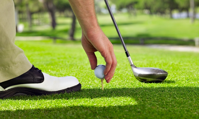 Dingus McGee's - Auburn: $31 for 9-Hole Golf Outing for 2 with Burgers & House Beers at Dingus McGee's (Up to $63.90 Value)