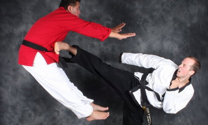 New Edge Martial Arts - Saint Clair Shores: 1 or 3 Months of Adult Self-Defense or Martial-Arts Classes at New Edge Martial Arts (Up to 78% Off)