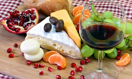 Sharing Platter with Wine for Two or Four at Pavilion Wine (Up to 50% Off)