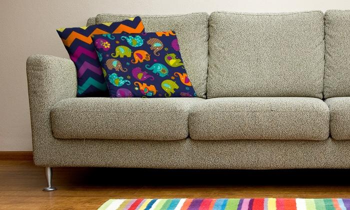 Melli Mellu Pillows & Co. - Maple: Decorative Handmade Pillows from Melli Mellu Pillows & Co. (50% Off). Two Options Available.