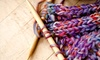 The Frayed Knot - Downtown Savannah: Beginning 1 Knitting Class for One, Two, or Four at The frayed knot (Up to 71% Off)