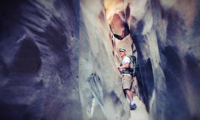 Get In The Wild - Town Center: Canyoneering Day Trips for Two or Four, or Family Adventure Day Trip for Up to Four from Get In The Wild (Up to 52% Off)