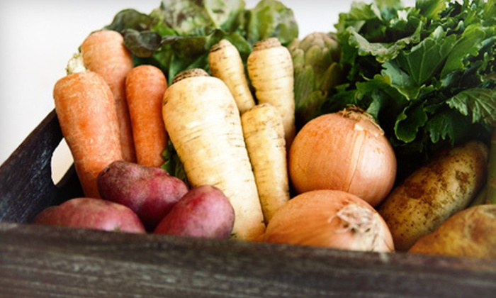 Papa Spud's - Cary: Home-Delivered Produce and Farm-Fresh Goods from Papa Spud's (Up to 53% Off). Two Options Available.