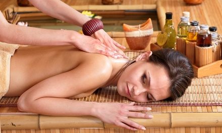 Three 60-Minute Full-Body Herbal Massages at Asian Bridal Design Studio and Spa (65% Off)