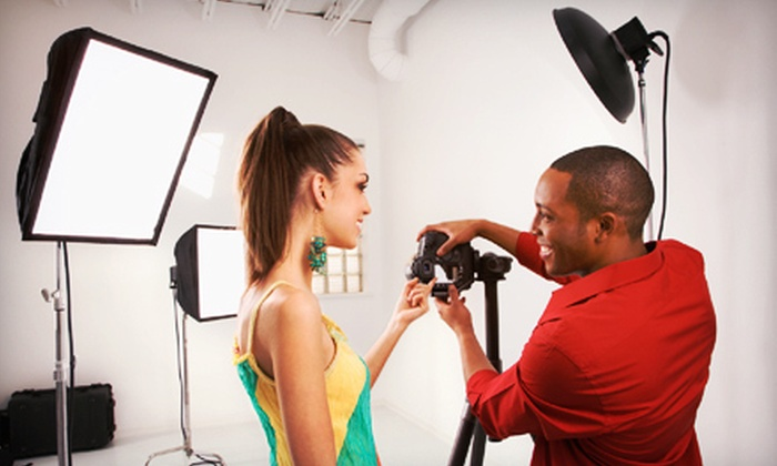 Photo Studio Group - South Ann Arbor: $199 for a Five-Day Teen Photography Summer Camp at Photo Studio Group (Up to $450 Value). Eight Sessions Available.