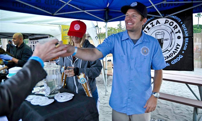 Newport Beach Beerfest - Newport Dunes Waterfront: $55 for a VIP Package for Two at Newport Beach Beerfest on Saturday, April 25, at 6 p.m. ($100 Value)