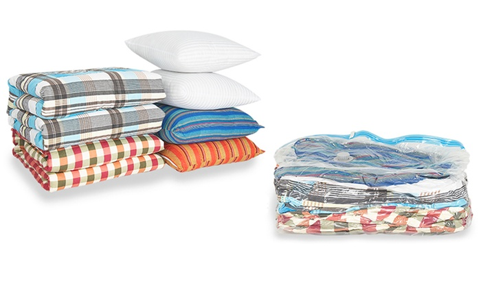 Reusable Vacuum Storage Bag 3-Pack: $11.99 for a Reusable Vacuum Storage Bag 3-Pack ($20.99 List Price). Free Returns.