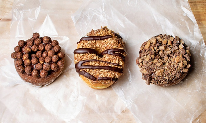 So Nuts! Donuts & Deli - Carrollwood: Donuts and Deli Fare at So Nuts! Donuts & Deli (Up to 48% Off). Three Options Available.