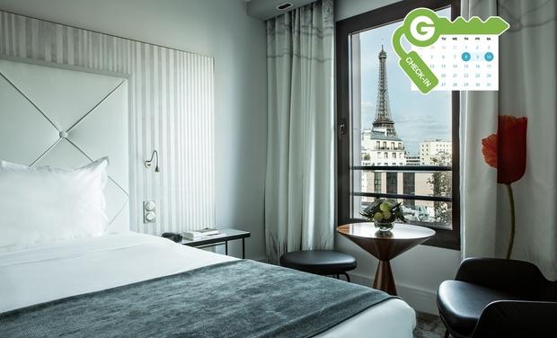 H tel le parisis tour eiffel in par s ile de france for Groupon hotel paris