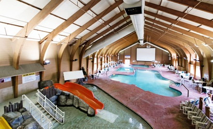 Stay at Cranberry Country Lodge in Tomah, WI; Dates into March