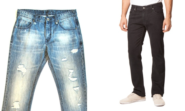 X-Ray Men's Jeans: X-Ray Men's Jeans. Multiple Styles Available. Free Shipping and Returns.