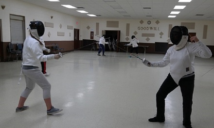 Up to 50% Off Fencing Classes at White Rose Fencing Club, LLC