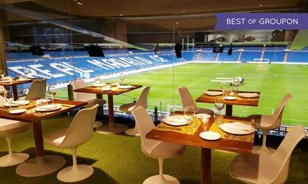 Afterwork para 2, 4 o 6 personas con raciones o pizza a elegir y bebida desde 11 € en Real Café Bernabéu