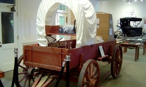 Matagorda County Museum: Admission for Two or Four, or One-Year Individual or Family Membership at Matagorda County Museum (Up to 47% Off)